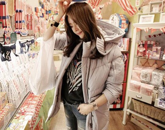 羽絨外套 冬季保暖立領羽絨棉連帽外套 艾爾莎【TGK0109】 1