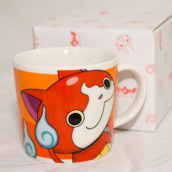 妖怪手錶 吉胖貓 日本製 陶瓷馬克杯 日本帶回正版