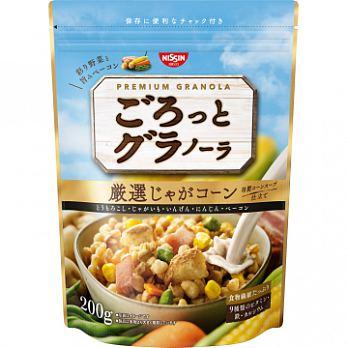 有樂町進口食品 日本空運來台 日清NISSIN早餐燕麥片 日清馬鈴薯早餐麥片 200g 4901620160319