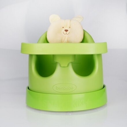 【贈收納袋】安琪兒【Bonbebe】360度歡樂多功能幫寶椅-綠色 0