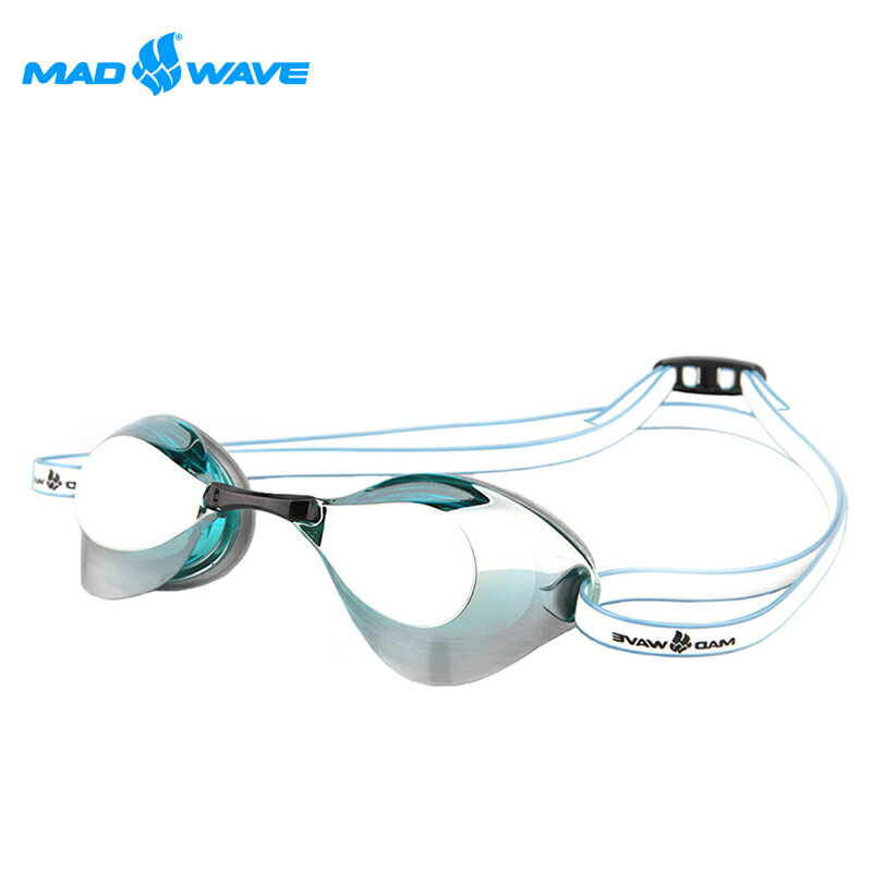 俄羅斯MADWAVE成人泳鏡TURBO RAICER II MIRROR 0