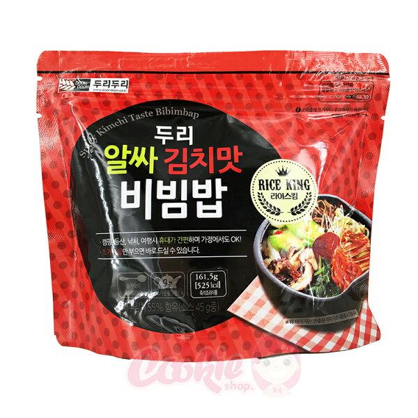 韓國 DOORI DOORI 石鍋拌飯 韓式泡菜口味(161.5g)【庫奇小舖】