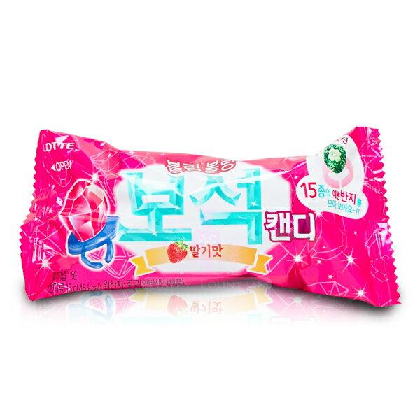 韓國 Lotte 樂天 寶石戒指糖(草莓口味)