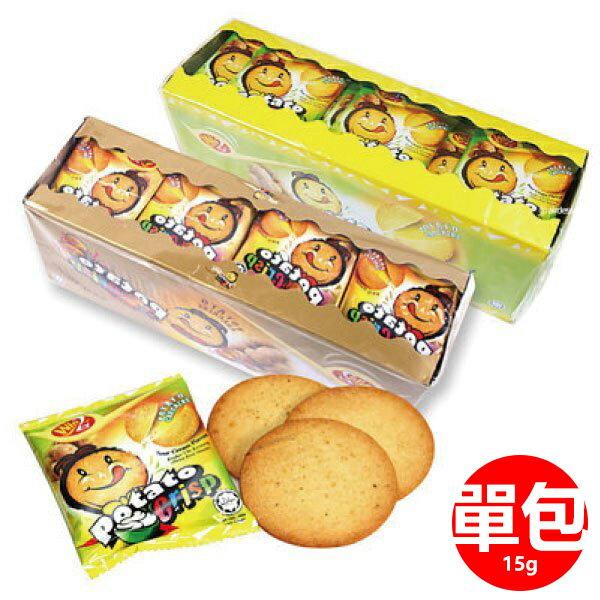 韓國 win2 香烤洋芋脆薯餅 BBQ口味/酸奶口味 15g 單包