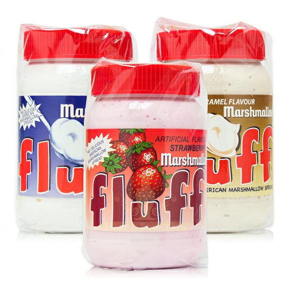 美國 Fluff 棉花糖抹醬 焦糖/香草/草莓 果醬 吐司醬