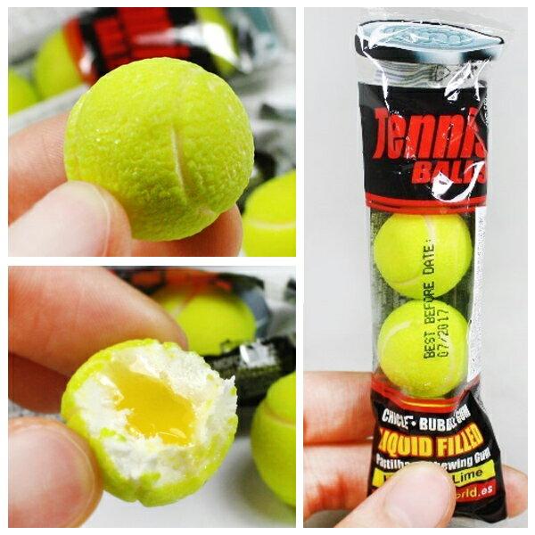西班牙 Fini Tennis 網球口香糖 Lime&Lemon 單條 20g