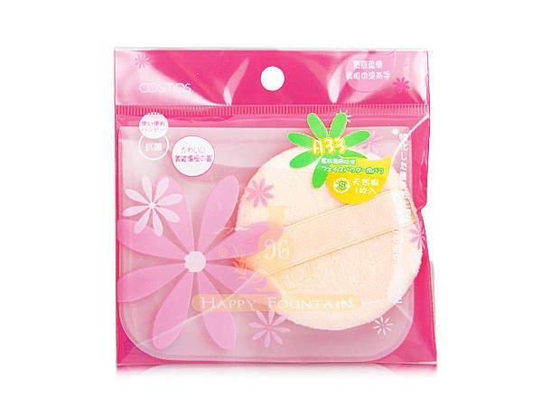 COSMOS A33蜜粉專用粉撲(圓形) ~ 附收納袋