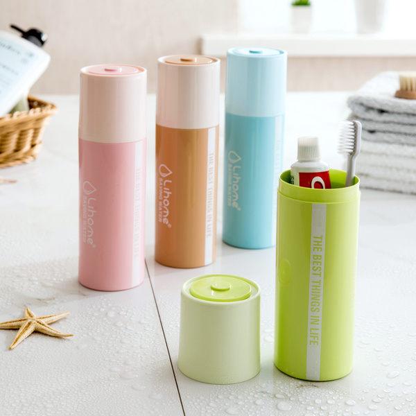 PS Mall 電池造型牙刷盒創意簡約刷牙牙具盒【J502】