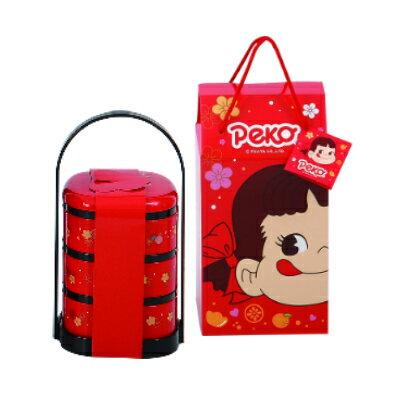有樂町進口食品 日本進口 年節禮盒 不二家綜合牛奶糖提籃禮盒 4902555118673 1