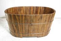 泡湯推薦到泡澡幫助血液循環 檀香木泡澡桶126公分長(兩人份) )台灣第一領導品牌-雅典木桶 木浴缸、方形木桶、泡腳桶、蒸腳桶、蒸氣烤箱