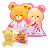 婚禮小物推薦到一定要幸福哦~~英國貝爾-熊熊抗菌皂50g-西式新人款, 婚禮小物,送客禮,姐妹禮