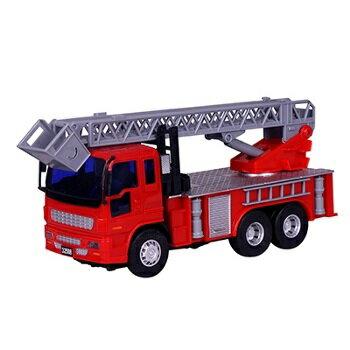 小小家 磨輪小型消防雲梯車 32508 0