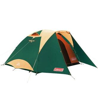 【露營趣】中和 附鋁墊地布 Coleman TOUGH圓頂帳/3025綠 CM-27278 鋁合金帳篷 露營帳篷 家庭帳篷