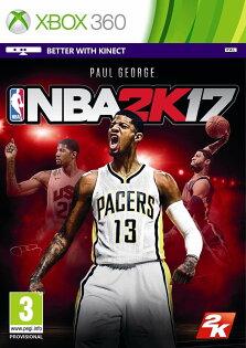 預購中 9月發售 中文版 [普通級] XBOX360 NBA 2K17