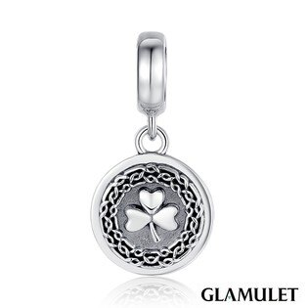 Glamulet格魅麗925純銀幸運草 charm 925 純銀
