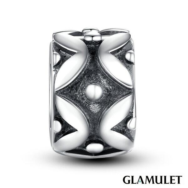 Glamulet格魅麗925純銀水晶手環吊飾純銀定位珠
