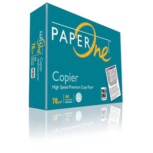 【PAPER ONE  影印紙】PAPER ONE 70P A4 影印紙 (5包/箱)