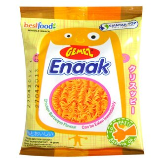 有樂町進口食品 韓國進口 韓國Enaak香脆點心麵隨手包 K10 8886013505181