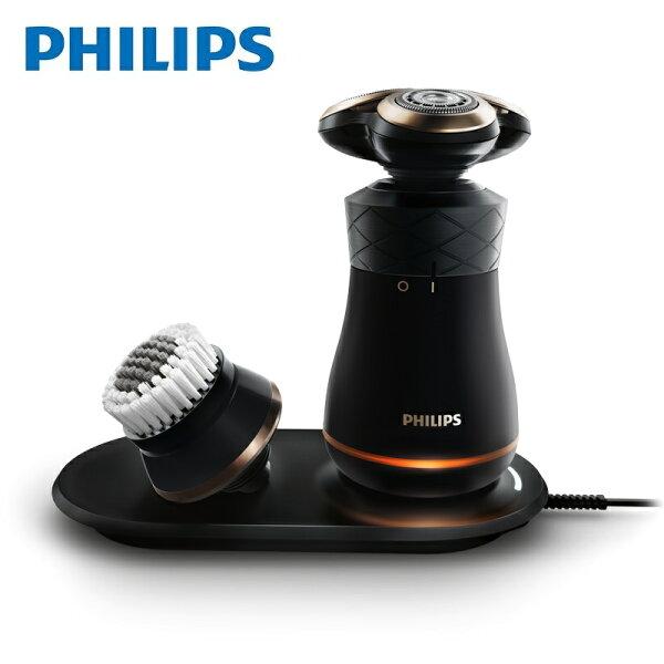 【飛利浦 PHILIPS】IconiQ 限定版電鬍刀(S8860)送耳鼻毛修容組+旅用電鬍刀HS199