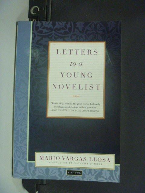 ~書寶 書T8/原文小說_GJX~Letters to a Young Novelist_