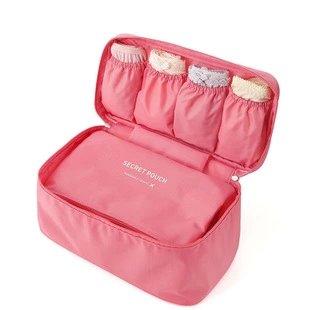 【瞎買天堂x買一送一】第二代旅行內衣 內褲收納包 收納盒 化妝包 洗漱包【HLBGAA03】