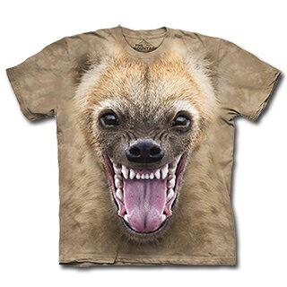 『摩達客』(預購) 美國進口【The Mountain】自然純棉系列  鬣狗臉  設計T恤