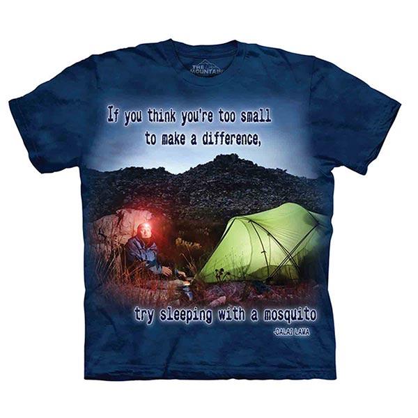 【摩達客】(預購)美國進口The Mountain Life戶外系列 渺小的蚊子 純棉環保短袖T恤