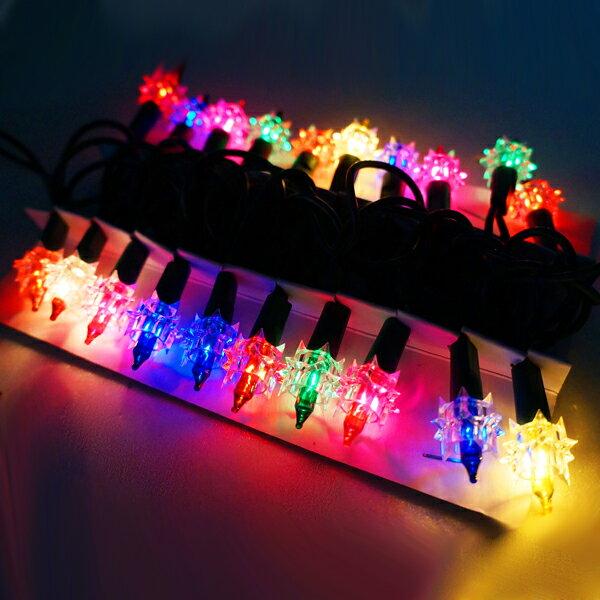 『冬季生活限定』聖誕燈-鑽石燈串 (20燈)(鎢絲燈)(可搭聖誕樹)