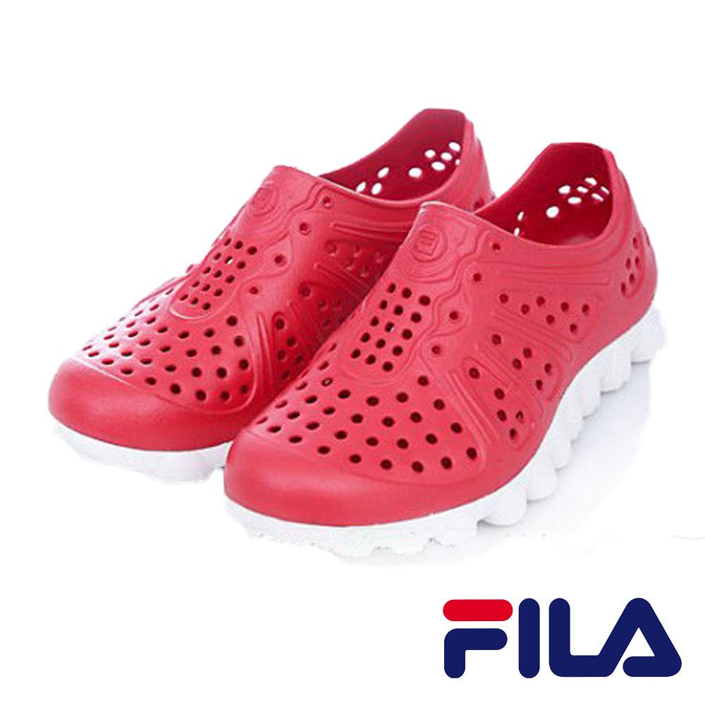 FILA  男款 超透氣 明星休閒鞋系列- 紅色 S920M-212 0