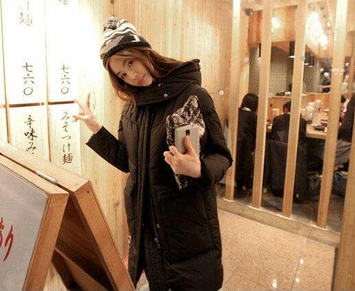 羽絨外套 冬季保暖立領羽絨棉連帽外套 艾爾莎【TGK0109】 2