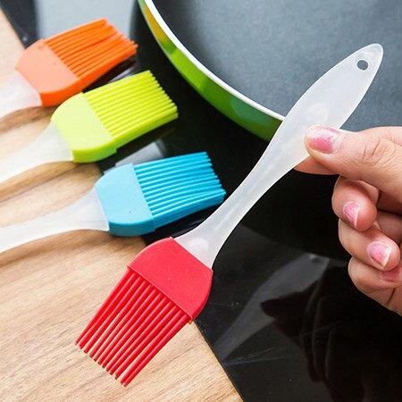 矽膠烤肉料理刷/烘焙工具刷1入(不挑色) 廚房 料理【N202096】