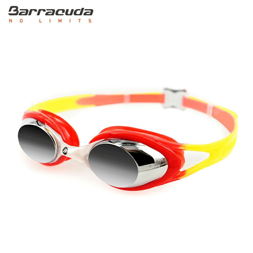 美國巴洛酷達Barracuda兒童抗UV電鍍泳鏡-CARNAVAL#34710 5