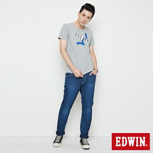【網路限定款。9折優惠↘】EDWIN 街頭塗鴉LOGO 短袖T恤-男款 麻灰色【單筆2000結帳輸入優惠券代碼161028。現折240元】 3