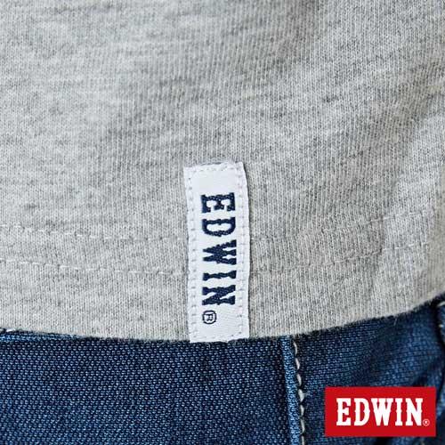 【網路限定款。9折優惠↘】EDWIN 街頭塗鴉LOGO 短袖T恤-男款 麻灰色【單筆2000結帳輸入優惠券代碼161028。現折240元】 5