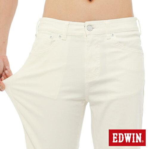 【9折優惠↘】EDWIN JERSEYS迦績內藏腰頭彩色短褲-男-白色 3