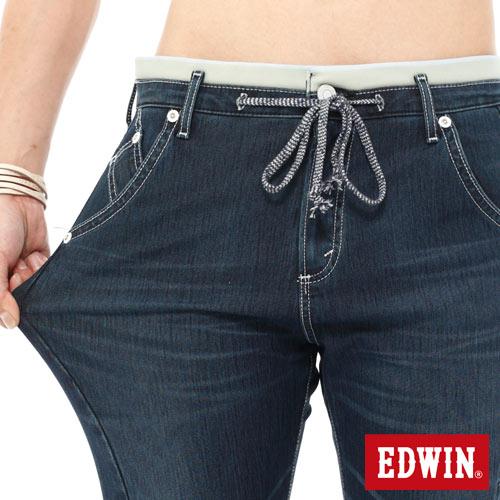 【1290元優惠↘】EDWIN JERSEYS迦績側剪接牛仔短褲-男-石洗綠 3
