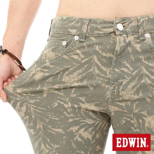 【1290元優惠↘】EDWIN JERSEYS迦績超彈力印花短褲-男-淺卡其 3