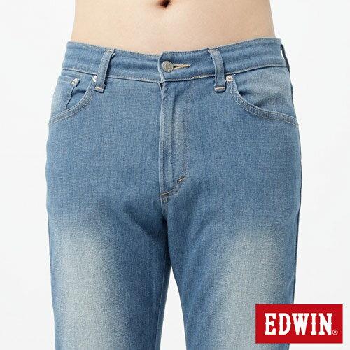 【週年慶。8折優惠↘】EDWIN 503FLEX伸縮中直筒褲-男-漂淺藍【單筆2000結帳輸入優惠券代碼161028。現折240元】 3
