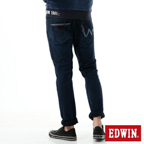 【2200元優惠↘】【大尺碼】EDWIN JERSEYS 503迦績CARGO 牛仔褲-男款 拔洗藍 1