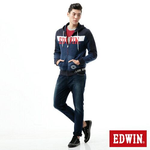 【2200元優惠↘】【大尺碼】EDWIN JERSEYS 503迦績CARGO 牛仔褲-男款 拔洗藍 2