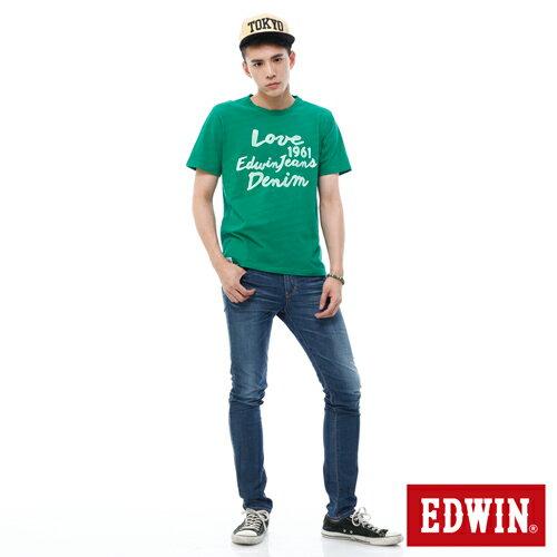【9折優惠↘】EDWIN EDEG 輕爽COOL 窄直筒牛仔褲-男-酵洗藍 2