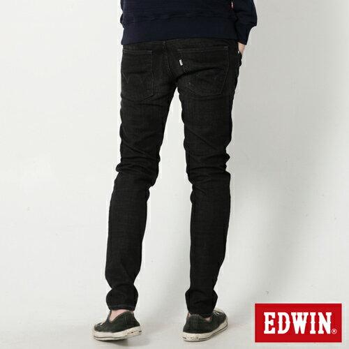 【9折優惠↘】EDWIN NEW503經典窄直筒牛仔褲-男-黑灰刷色 1