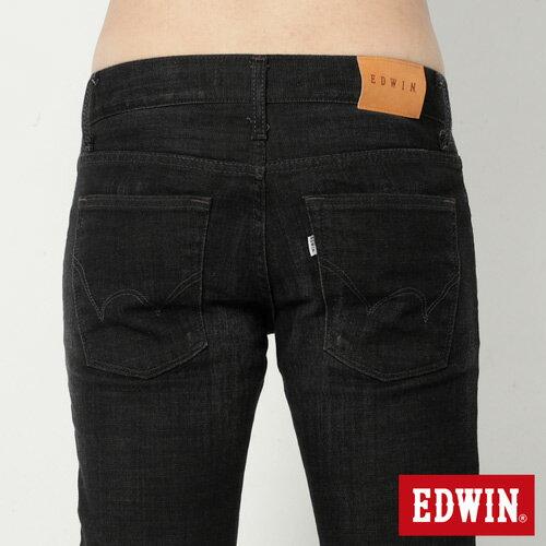 【9折優惠↘】EDWIN NEW503經典窄直筒牛仔褲-男-黑灰刷色 4