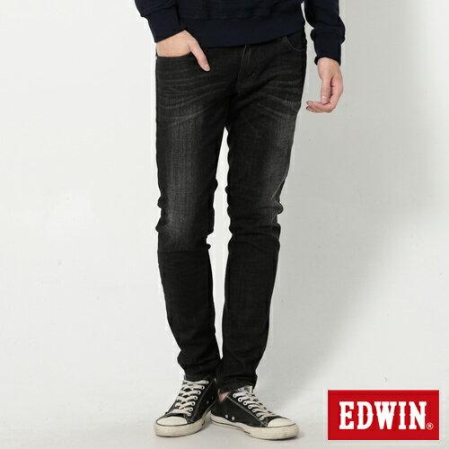 【9折優惠↘】EDWIN NEW503經典窄直筒牛仔褲-男-黑灰刷色 0