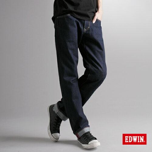 【990元優惠↘】EDWIN XV 歷史刻痕復古牛仔褲-男款 原藍色 0