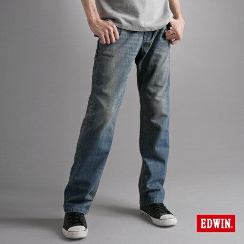 【990元優惠↘】EDWIN XV 歷史刻痕復古牛仔褲-男款 漂淺藍 - 限時優惠好康折扣
