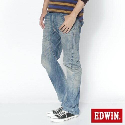 【990元優惠↘】EDWIN E-function AIRIZER DENIM超輕量日本丹寧-男款 重漂藍 0