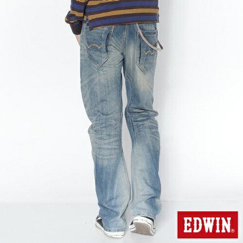 【990元優惠↘】EDWIN E-function AIRIZER DENIM超輕量日本丹寧-男款 重漂藍 1