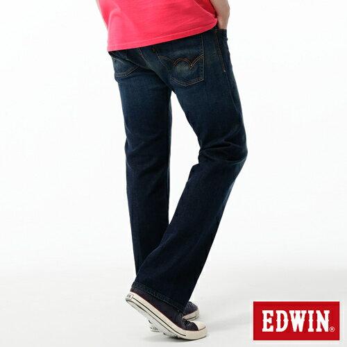 【獨家首降!990元優惠↘】EDWIN 503 ZERO直筒褲-男款 中古藍 1