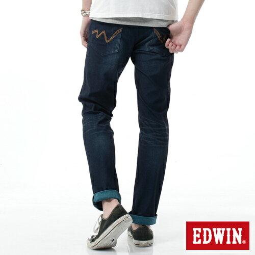 【2000元優惠↘】EDWIN JERSEYS雙色迦績AB褲-男-寶石藍 1